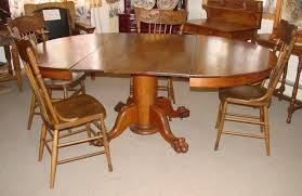 Oak Dining Room Tables And Chairs by Set 4 1890 U0027s Oak Pressed Back Chairs Southwest Spirit Antiques