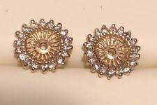 diamond earring jackets diamond earring jackets ebay