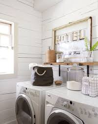 Vintage Laundry Room - 24 laundry rooms and mudrooms that are pretty and useful vintage