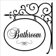 decorative bathroom signs images google search interior design