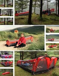 whoa a tent hammock sleeping bag inflatable mattress combo