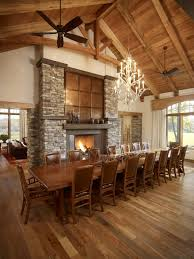 Long Dining Room Chandeliers Design Ideas Regency Fireplace Is A Unique Way For Comfortably