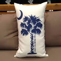 South Carolina Home Decor South Carolina Palmetto U0026 Usa Pillows Home Decor U0026 Bath