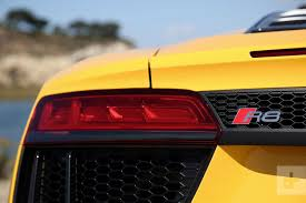 Audi R8 Yellow 2016 - 2018 audi r8 v10 spyder review digital trends