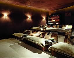 home theatre room i like the idea of having