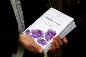 wedding program template download instantly editable text