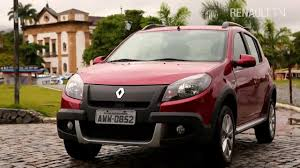 renault 4 pope new renault sandero stepway test drive in brazil by renault tv