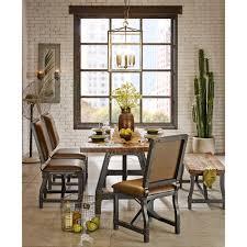 industrial kitchen table furniture ink ivy lancaster vintage industrial dining gathering table