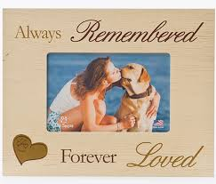 remembrance picture frame pet memorial frames