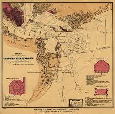 Map Of Charleston South Carolina Charleston U0027s Harbour Defenses American Civil War Forums