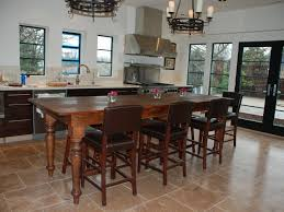 kitchen kitchen island with seating and 52 interior brown wooden