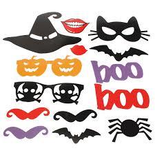 pumpkin mask for halloween 14pcs diy halloween pumpkin lips photo booth props mask mustache