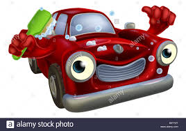vintage cars clipart cartoon classic car mascot with a happy face giving a thumbs up