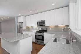 white kitchen cabinets subway tile backsplash home design ideas