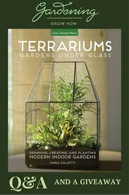 q u0026a with maria colletti author of terrariums gardens under glass