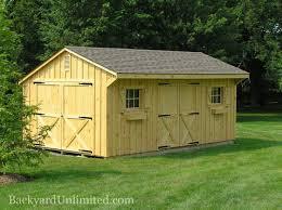 Shed Barns Sheds Quaker Backyard Unlimited