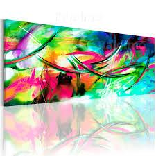 bilder xxl leinwand bilder xxl fertig aufgespannt bild bunt abstrakt