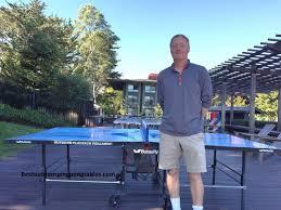 butterfly outdoor rollaway table tennis butterfly outdoor playback rollaway ping pong table youtube