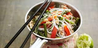 recette de cuisine au wok wok thaï facile et pas cher recette sur cuisine actuelle