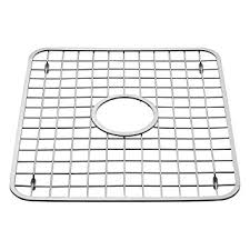Amazoncom InterDesign Gia Kitchen Sink Protector Wire Grid Mat - Kitchen sink grid