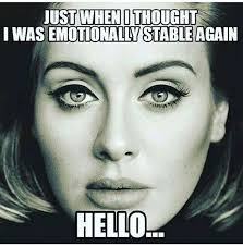 Adele Memes - the 22 best adele memes songs gold and adele