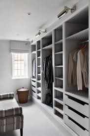 elegant and stylish walk in wardrobe closet with smart storage