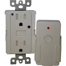 Westek 5 Amp 1 Outlet by Eco Shark Energy Saving 15 Amp Duplex Outlet With Remote White