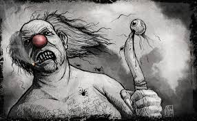 anthony sixto art blog halloween challenge day 4 clown