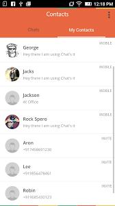 what u0027s chat clone u2013 an ionic framework socket io and nodejs