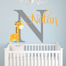 Safari Nursery Wall Decals Shop Safari Baby Room Decor On Wanelo