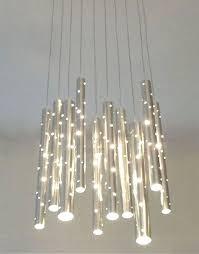 Chandelier Acrylic Modern Lighting Fixtures Chandeliers With Led Chandelier Acrylic