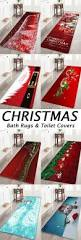 Christmas Bathroom Rugs 343 Best Bath Rugs U0026 Toilet Covers Images On Pinterest