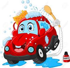 cartoon car cartoon car wash character royalty free cliparts vectors and