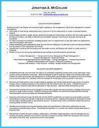 Resort Manager Resume Make The Most Magnificent Business Manager Resume For Brighter Future