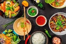 la cuisine asiatique cuisine chinoise banque d images vecteurs et illustrations libres