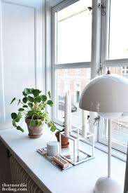Window Sill Inspiration Window Sill Via That Nordic Feeling That Nordic Feeling