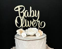 cake toppers for baby showers baby cake topper etsy
