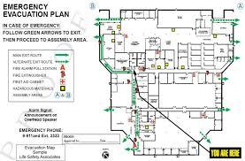 evacuation maps life safety
