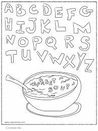 alphabet coloring pages az and pdf glum me