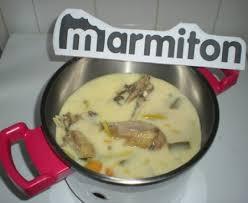 cuisiner une vieille poule au pot à l ancienne façon blanquette recette de poule au pot