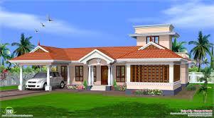 Kerala style single floor house design