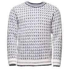 white wool sweater færeyingur wool sweater icewear