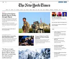 why you may not even notice the new york times u0027 major home page redesi