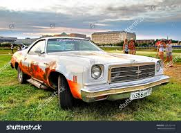 el camino drag car moscow russia july 6 amrican car stock photo 125135144 shutterstock