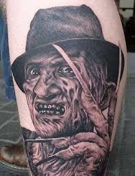 bizarre tattoos of hollywood s legend of horror characters