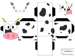 use this cow pattern for bulletin board of country road with