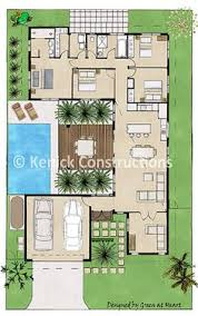 u shaped courtyard house plans plan tr8576ms old world european