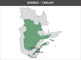 Map Of Quebec Where To Live In Canada Big City Vs Countryside Immigroup We
