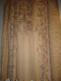 Croscill Shower Curtain Croscill Normandy Tuscan Natural Green Scroll Floral Fabric Shower