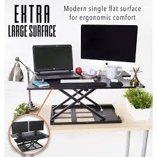 Ergonomic Desk Standing by X Elite Pro Xl 36 U201d Sit Stand Standing Desk Converter Stand Steady